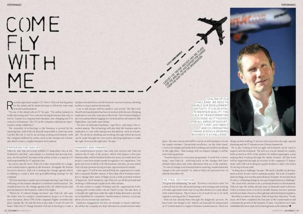 Easyjet article artwork