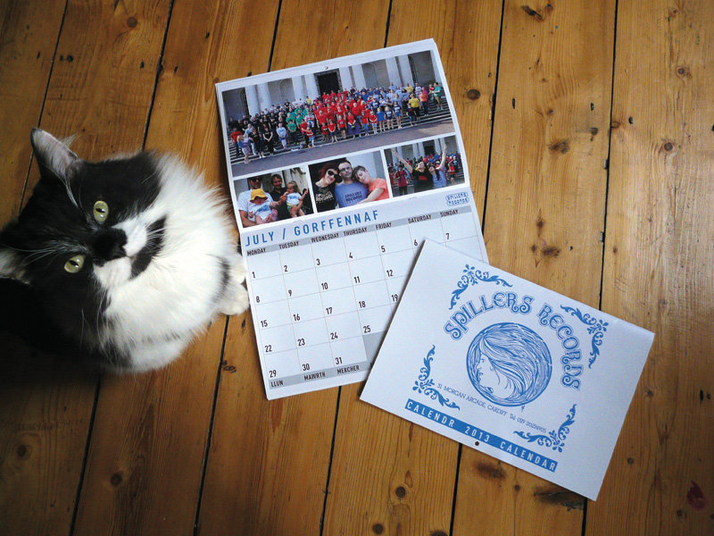 Spillers Records Calendar