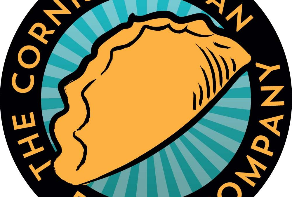 Logo and label design for Cornish Vegan Pasty Company
