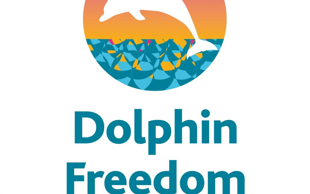 Logo for Dolphin Freedom UK