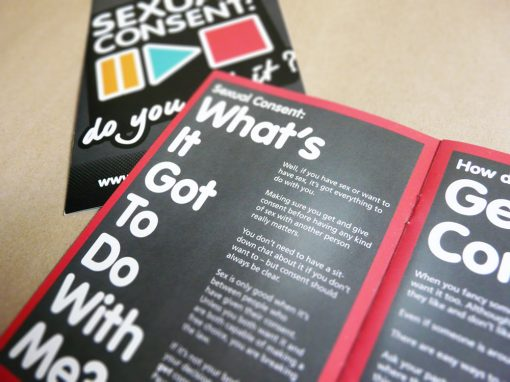 Branding for Sexual Consent campaign