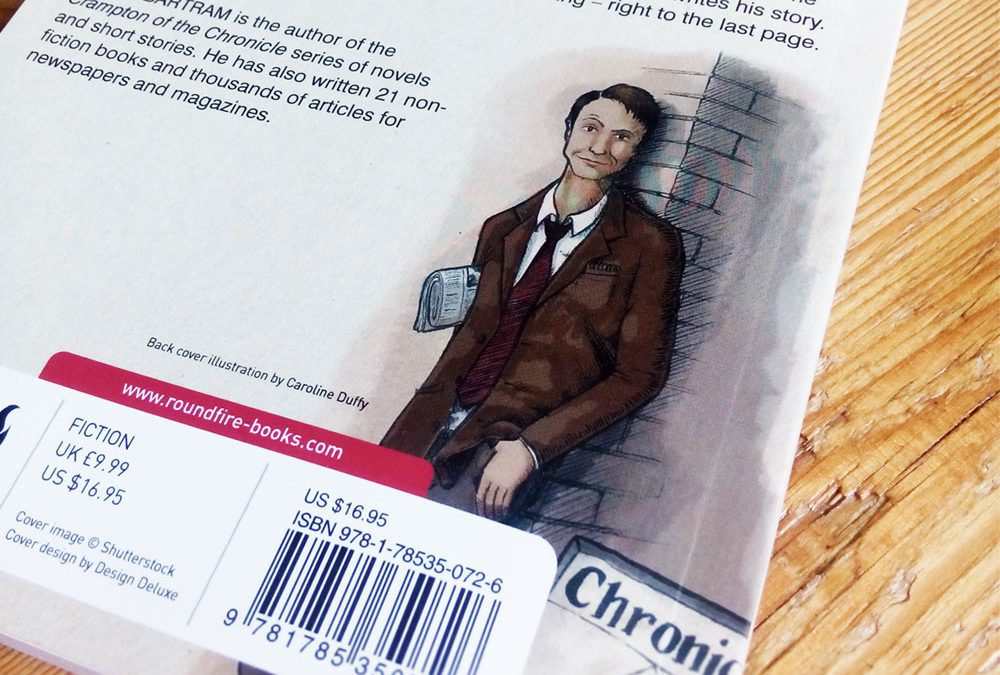 Character design for Crampton of the Chronical books
