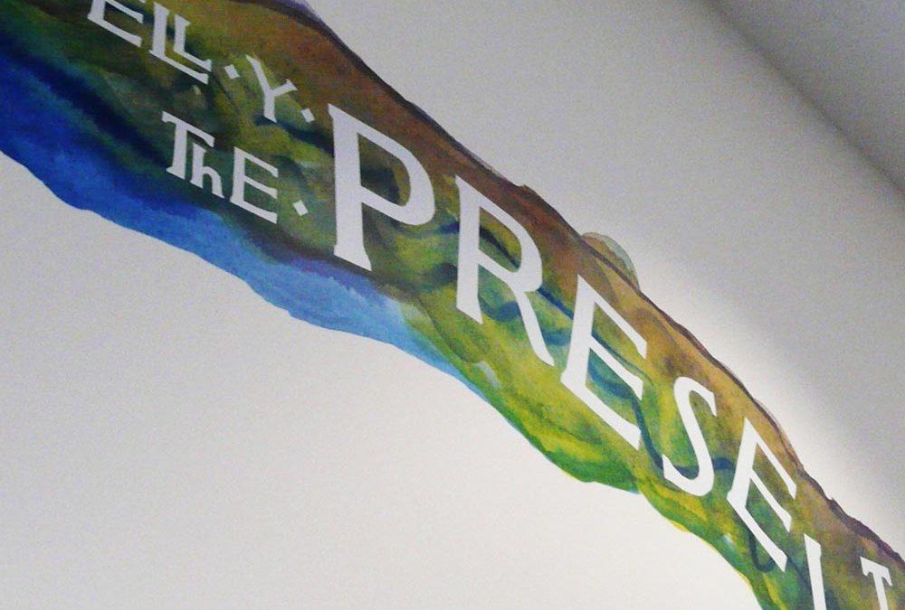 Mural design for Wales Millennium Centre