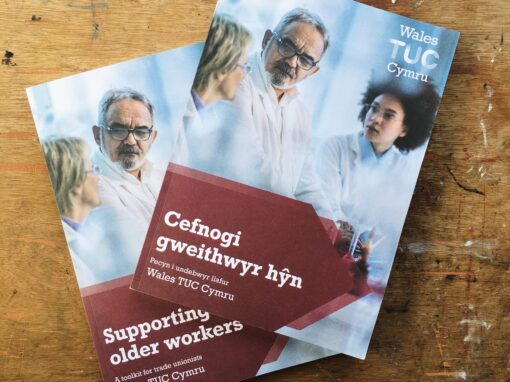 Supporting Older Workers – bilingual toolkit design for Wales TUC Cymru